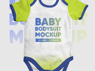 Baby Bodysuit Onesie Mock-up
