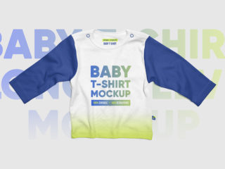 Baby T-Shirt Long Sleeve Mockups