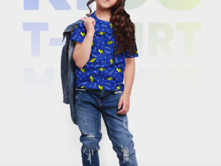 Kids T-Shirt Mockups 2