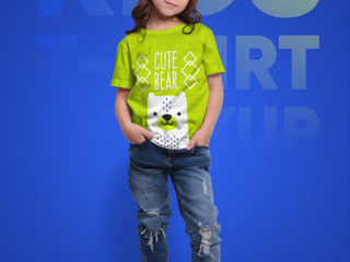 Kids T-Shirt Mockups