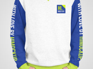 Male Sweatshirt Mockups