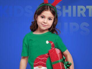 Christmas Kids T-Shirt Mockups