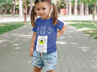Kids Girl T-Shirt Mockups Vol 3. Part 1
